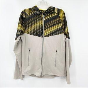 NIKE Yellow Running Fanatic Jacket